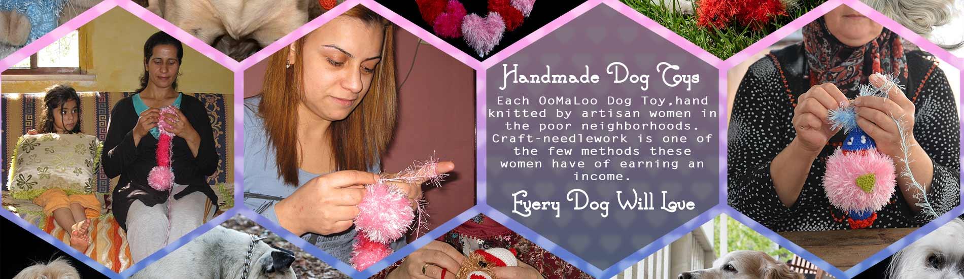 Handmade premiuim plush dog toys